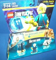 LEGO DIMENSIONS BBC DOCTOR WHO 71204 New Tardis ~ The Doctor ~ K-9 Level Pack