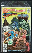 DC COMICS PRESENTS #47 MASTERS OF THE UNIVERSE 1ST APP HE-MAN, SKELTER IN COMICS