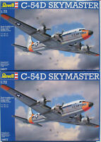 2x REVELL 04877 - Douglas C-54D SKYMASTER - 1:72 - Flugzeug Modellbausatz Kit