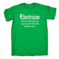 Funny Novelty T-Shirt Mens tee TShirt - Electrician Noun