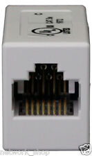 Cat5e RJ45 Inline Coupler JOIN 2 PATCH LEADS - OK for all cat5e ethernet cables