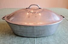 WAGNER WARE SIDNEY -0- Cast Aluminum 265 Oval Roaster With Drip Drop Baster Lid