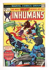 Inhumans #1 (Oct 1975, Marvel) -- 1st solo Inhumans
