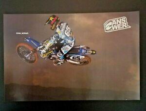 Vintage 2012 Ryan Morais Rockstar Yamaha Poster Supercross Motocross Answer