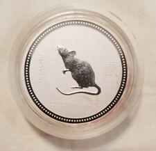 2008 australia 2 oz silver rat mouse series 1 mintage 7221 Key Date