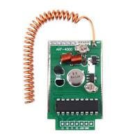 Large Power 4km Wireless Remote Control Transmitter Module Kit DC 9V RF 433Mhz