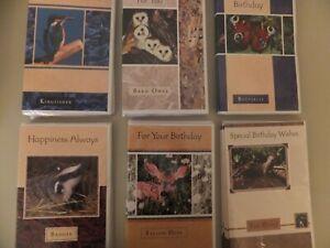 341: GC-66  Birthday Card  * English Wildlife * Choice of  12 x Designs *