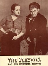 *SEAN O'CASEY BARRY FITZGERALD SARA ALLGOOD JUNO AND THE PAYCOCK 1940 PROGRAM*