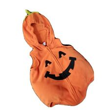Carter's Baby Infant Pumpkin Halloween Costume 6-9 Month Plush Hooded