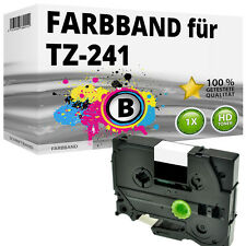 1x Farbband kompatibel Brother P-Touch PT E100 1010 H100R H300 D200 H105 TZ-241