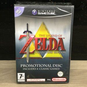 NINTENDO GAMECUBE - THE LEGEND OF ZELDA: COLLECTOR'S EDITION - FACTORY SEALED!!