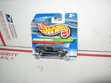 HOT WHEELS 1970 FORD MUSTANG MACH 1 GREEN & SILVER SHORT CARD TREASURE HUNT 1999