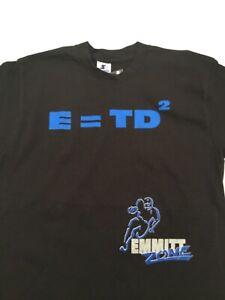 Vtg Rare Starter * Dallas Cowboys Emmitt Smith Black T-Shirt * EMMIT ZONE * MED