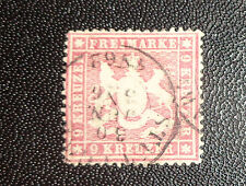 Germany Wurttemberg State stamp #22a used XF