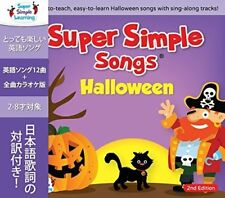 SUPER SIMPLE SONGS HALLOWEEN SECOND EDITION CD CHILDREN KIDS ENGLISH