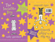 SALLY GARDNER_ INVISIBLE BOY / BOY WITH MAGIC NUMBERS _ BRAND NEW  _ FREEPOST UK