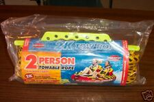 SPORTSSTUFF  2 PERSON 2K TOWABLE ROPE W/ROPE CADDY  NEW