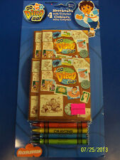 Go, Diego, Go! Nick Jr Diego Cartoon Birthday Party Favor Notebooks w/Crayons
