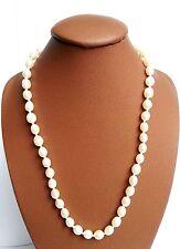 Collier Lithothérapie Minéraux Perle de Culture Bijoux en Pierre Naturelle