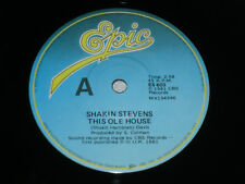 "SHAKIN' STEVENS This Ole House 1981 OZ 7"" NM"
