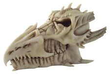 Dragon Skull Box ~ 8 inches Long~ Designed by the Alchemy Guild~ Cast Resin ~