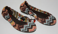 NWOB Girls Missoni For Target ZigZag Flats Shoes Size 2