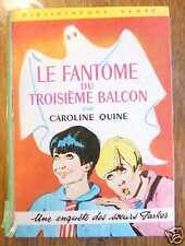 BV LE FANTOME DU TROISIEME BALCON Soeurs Parker EO 1968