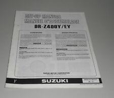 Montageanleitung Suzuki DR- Z 400 Y / EY Stand 11/1999