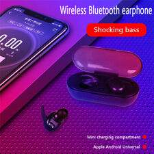 US Bluetooth 5.0 Earbuds Wireless Headphones Earphones For i phone Android TWS4.