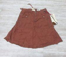 NEW Da-Nang Surplus Women's Skirt Embroidered Knee Level TEAL LNG336980 Sz: XS
