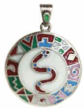 Serpiente Experto Pendant Necklace, Aztec Tesoro Collection, Tribal Jewellery