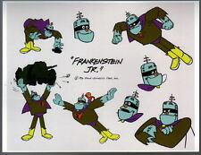 FRANKENSTEIN JR. MODEL SHEET HB TV - FRANKENSTEIN JR.
