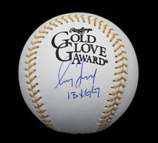 "Greg Maddux Signed Atlanta Braves Rawlings OML Baseball w- ""18X GG"" Insc"