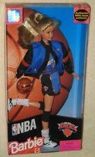 Barbie 1998 NBA New York Knicks Doll by Mattel NIB NIP NY Basketball
