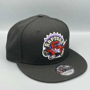 Toronto Raptors 9FIFTY New Era NBA Black Snapback Hat