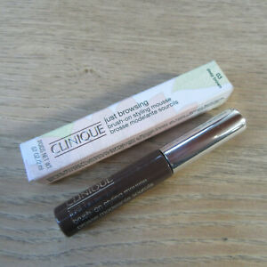 Clinique  Just Browsing Brush-On Styling Mousse - Shade:03 Deep Brown - 2ML.