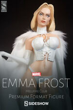 Sideshow Collectibles Emma Frost Hellfire Club Premium Format EXCLUSIVE..