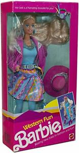Doll Western Fun Barbie - #9932 - Mattel