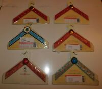 Lindsay Phillips Lot of 6 Switch Flops Straps Size Small Brand New