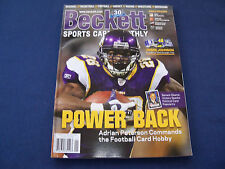 Beckett Sports Card Monthly Issue#286 January 2009 Adrian Peterson on the cover