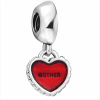 Flower European Bead Charm Custom Jewelry For 925 Silver Sterling Snake Bracelet