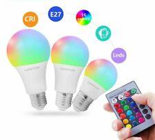 Rgb Led Bulb Led Lamp E27 Dimmable Rgb Lampada Smart Night Light Bulbs IR Remote
