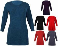 Long Sleeve Solid Stretch Tops & Blouses for Women