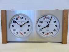 Vintage Heuer Competition Chess Clock Looping Timer Swiss Stopwatch Champion
