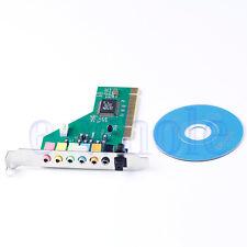 PCI 7.1 CHANNEL SOUND AUDIO CARD 3D STEREO INTERNAL FOR PC DESKTOP COMPUTER VIA