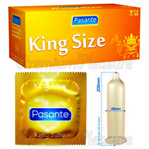 1 - 3 - 20 - 50 - 100 x Pasante King Size XL condoms - XXL Large *Free shipping*