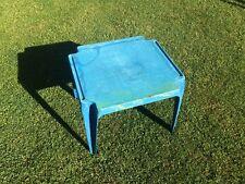 Kinder Garten Kinderzimmer TISCH Blau Möbel Kunststoff gebraucht