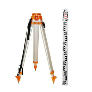 Aluminium Tripod Staff for Rotary Laser Dumpy Level Construction Survey