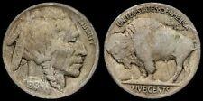 B1. Buffalo Nickel 5c, 1918/7-D, Super Key overdate! Full date/horn!