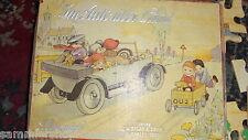25202 im Auto über Land Legespiel Verlag J.W.Spear 1910 unkomplett Puzzle